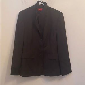 Anne Klein brown blazer lined